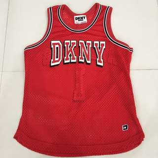 DKNY Sleeveless Jersey Top