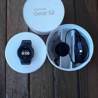 Samsung Gear S2 black rush..