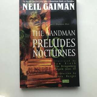 Neil Gaiman The Sandman Preludes and Nocturnes
