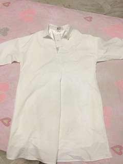 Here's V-Shirt dress