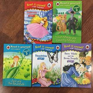 Ladybird Chidrens story books level 1-4