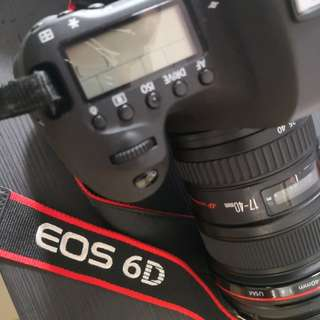Canon 6D + accessories