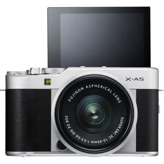 Fujifilm X-A5 with XC15-45mm F3.5-5.6 OIS PZ Lens