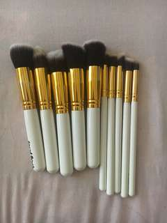 Kabuki 10pcs Professional Soft Makeup Brush