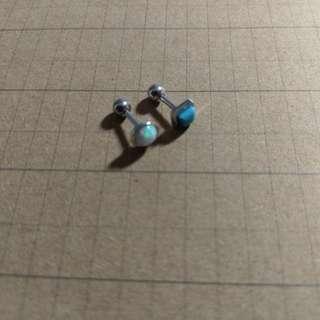 🚚 醫療鋼耳環(一對)