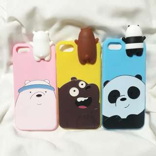 Bare Bears iPhone 7 cases