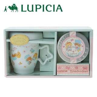 日本代購 sanrio 專門店 2018年 2月 little twin stars x Rupicia馬克杯帶蓋和草莓巧克力茶