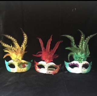 < CATZ > Party Masquerade Face Mask