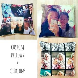 Customized Cushions Pillows