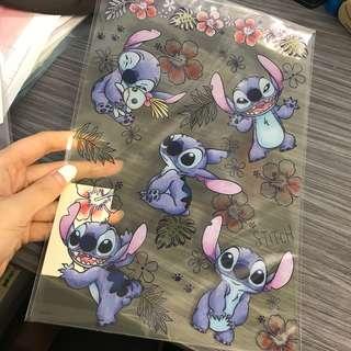 日本Disneystore stitch 史迪仔 厚膠墊