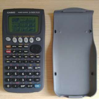 Casio graphic calculator fx-7400G plus