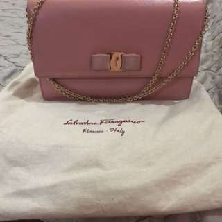 Ferragamo Ginny Bag - Blush Color