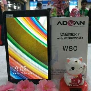 [SEKEN]Advan Vanbook W80 Tablet [16 GB]