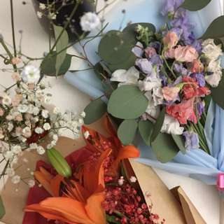 Customized flower bouquets