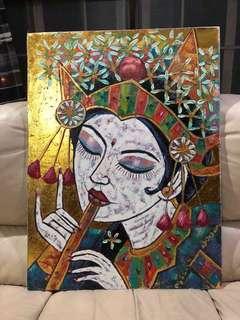 Bali Painting (Acrylic)