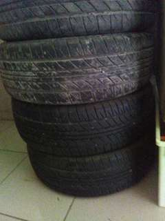 2nd kelisa alloy rim and tayar