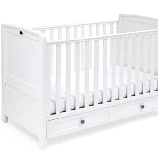 Silver Cross Nostalgia baby cot toddler bed