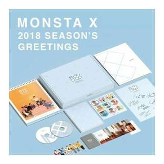 (PRE ORDER) MONSTA X Season's Greetings 2018