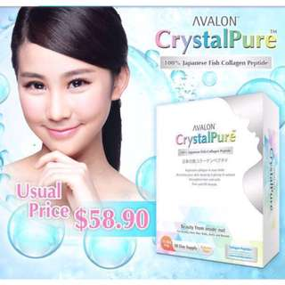 Avalon CrystalPure Collagen (100% Japanese Fish Collagen Peptide)