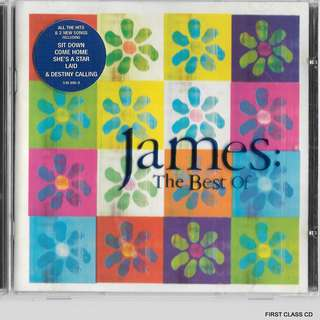 MY PRE;PVED CD- THE BEST OF JAMES - FREE DELIVERY(F3S)