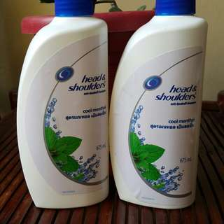 Head & Shoulders Menthol Shampoo