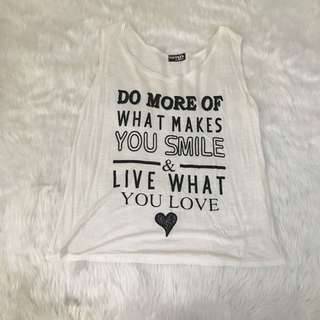 Statement Tanktop