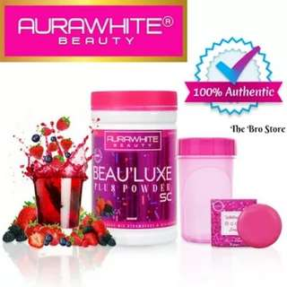 FAIRER WHITER SKIN♥ LATEST ORIGINAL AuraWhite Beau'Luxe SC