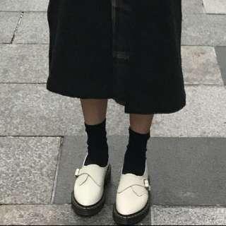 Dr martens 白皮鞋