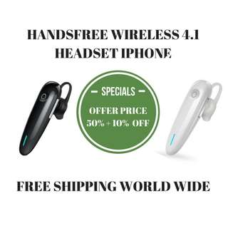 HANDFREE WIRELESS 4.1 HEADSET