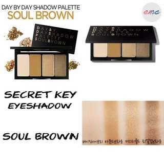 BN Secret Key Day By Day Eyeshadow Palette - Soul Brown
