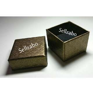 Brown Paper Rings Box Holders Sellzabo Black Base Accessories Gift Presents
