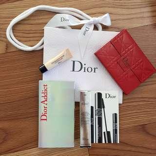 Authentic Dior Makeup Set