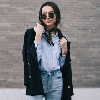 Update your blazer look with a Fashion Trend Necktie