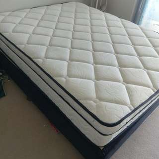 Queen Spring bed with the base Premium quality