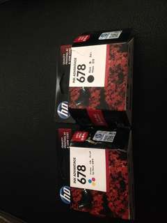 Printer Ink Advantage 678, Black and Tri-Color