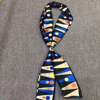 Graphic print Necktie wear under jacket lapels for an updated look
