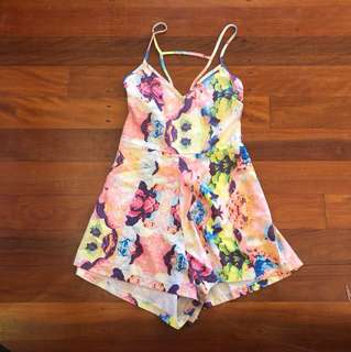 Size 10 one way playsuit