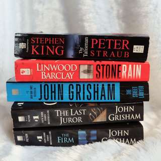 BUNDLE NO. 4 | Grisham, Barclay, King