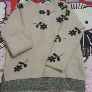 Reprice  Zara kids girl knit tp dewasa bsa pake yah
