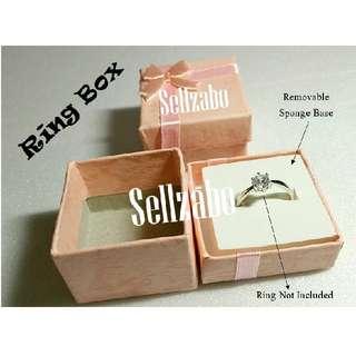 🆕Single Jewellery Display : Pink/Blue Paper Box Sellzabo Rings Pendants Accessories Ladies Girls Women Female Lady