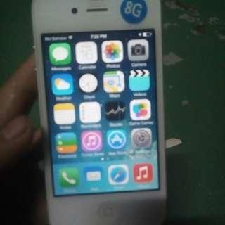 Iphone 4 (no sim slot)