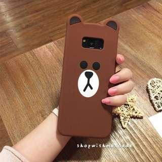 Line Friends Brown Samsung S8 plus / Note 5 / S7 casing