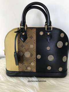 Louis Vuitton Limited Edition Alma Bag
