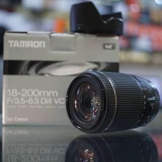 Tamron 18-200 F/3.5-6.3 Di II VC