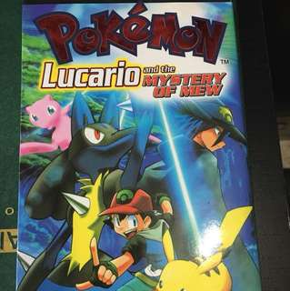 Pokémon Lucario & the mystery of Mew