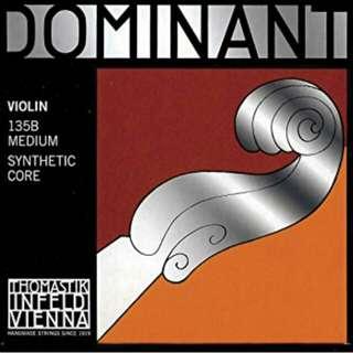 Ready Stock! Dominant violin strings set