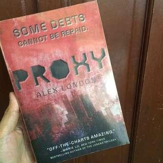 (Signed Copy) Proxy by Alex London