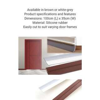 Door strip brown. 1m.