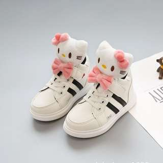 3D Cute Hello Kitty PU Boot for Toddler And Kids