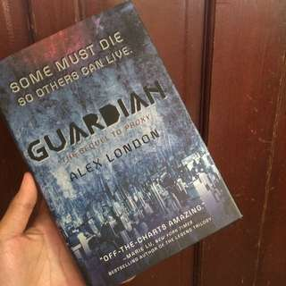 Guardian by Alex London (Signed Copy)